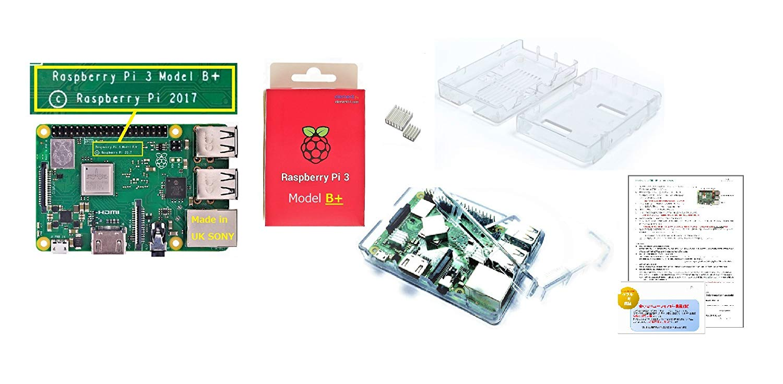 Raspberry Pi 3 Model B 2018 ニューモデルを購入