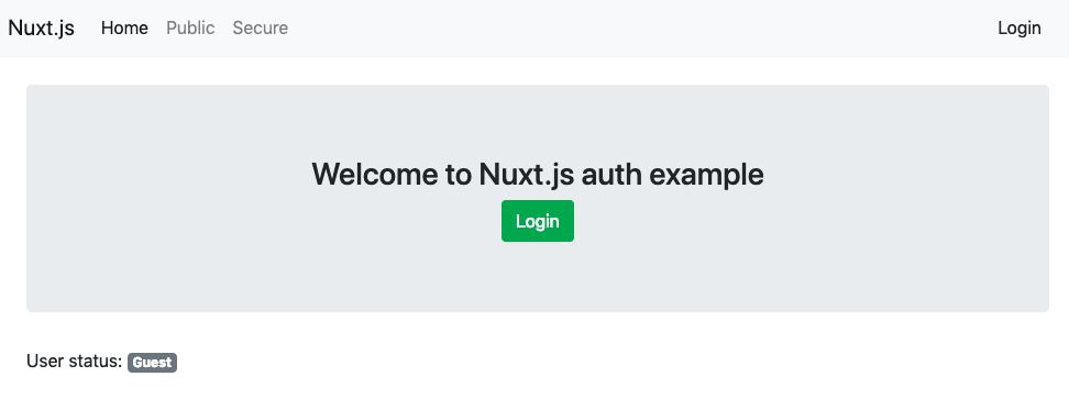 web帳 | Nuxt js と auth-module (@nuxtjs/auth)で、JWT(JSON Web