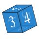 CSS3 3D効果アニメーション 立体四角形作成 transform rotateZ()