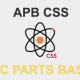 「CSSが難しい。。」「CSSが面倒。。」 と言ったエンジニアさんにもオススメのCSS設計! 「APBCSS(Atomic Parts Base CSS)」が良い感じ!